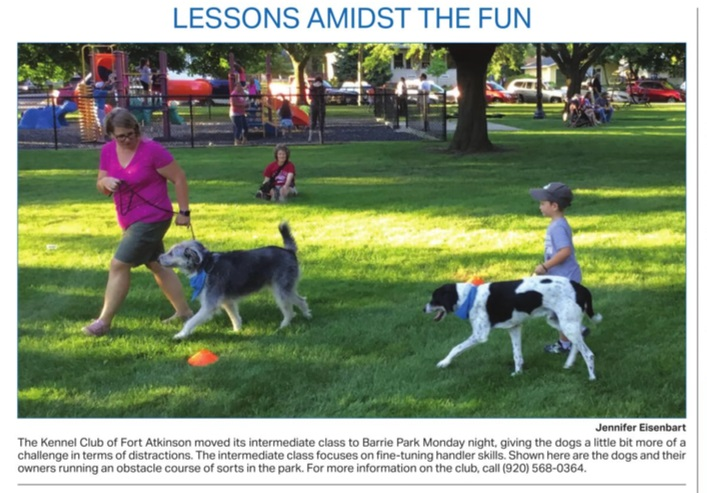 Dogs About Town photo from Daily Union July 5 2018