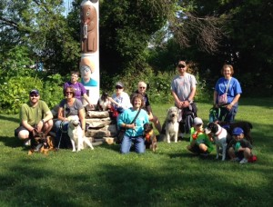 Group Dog Walk Aug 2017